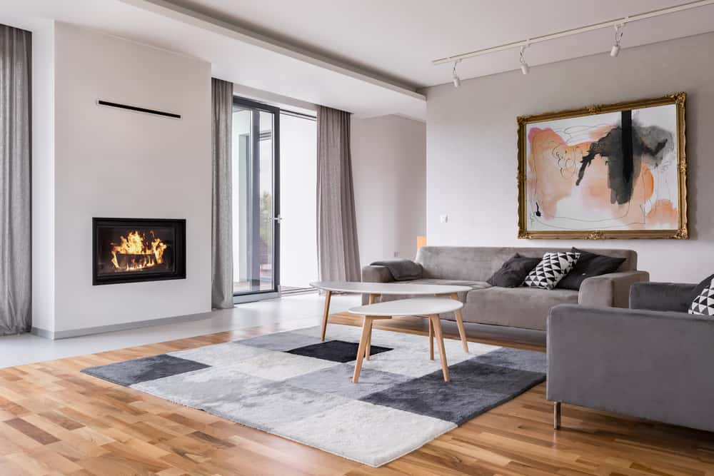 Statement Decor Pieces Minimalist Living Room 3