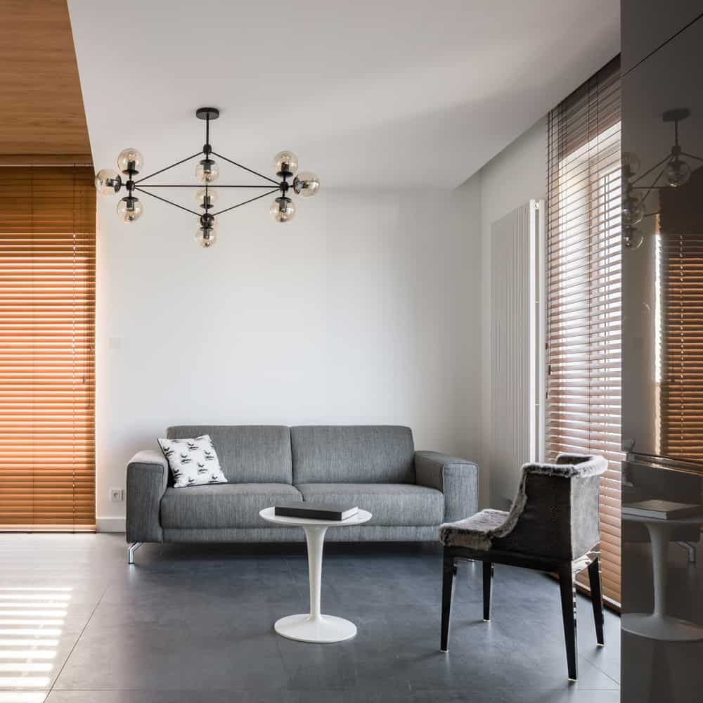 Statement Decor Pieces Minimalist Living Room 4