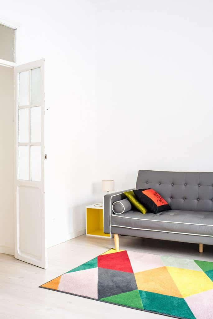 Statement Decor Pieces Minimalist Living Room 5