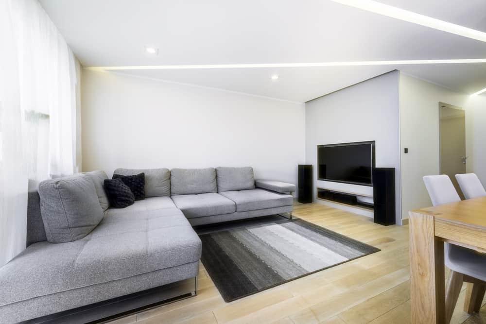 Statement Decor Pieces Minimalist Living Room 6