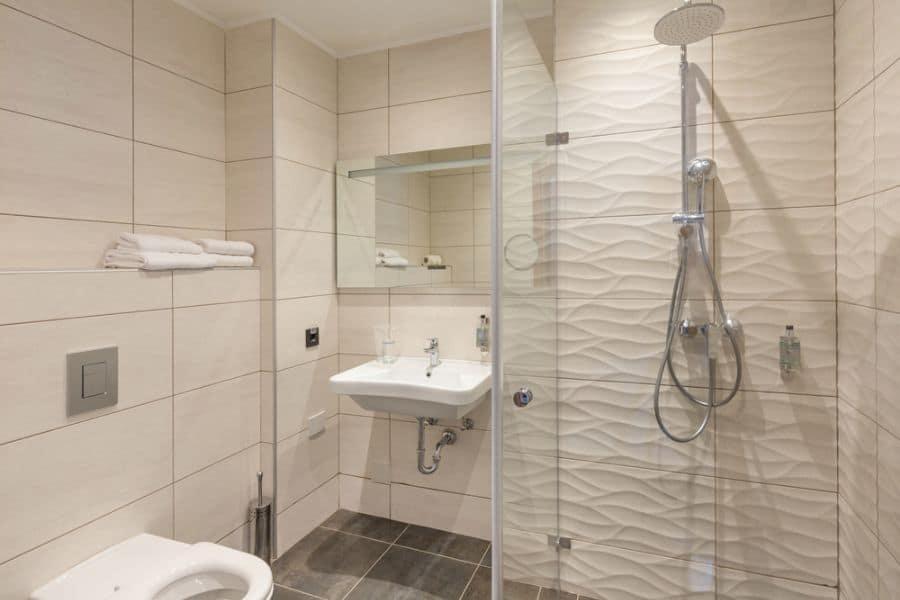Statement Tiles Small Shower Ideas 1