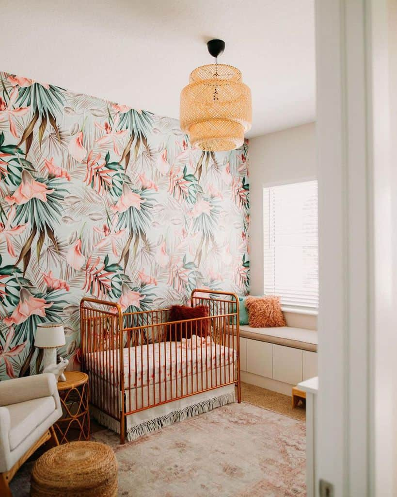 Statement Wall Baby Room Ideas Brooklynn 88
