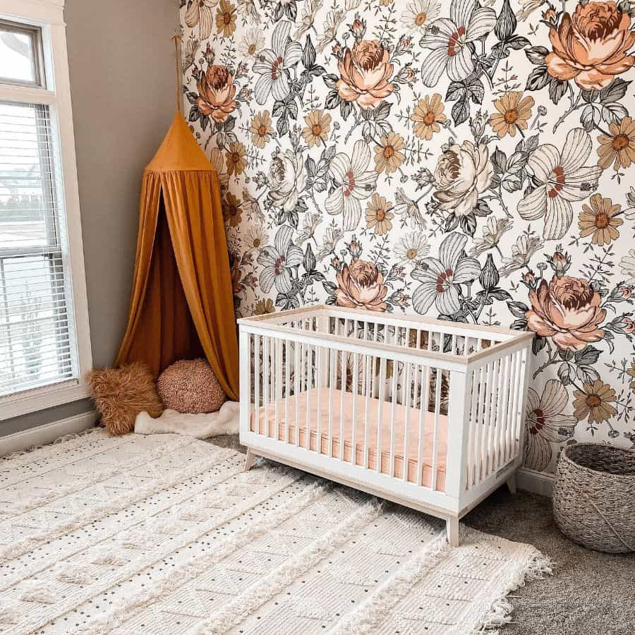 Statement Wall Baby Room Ideas California Belles