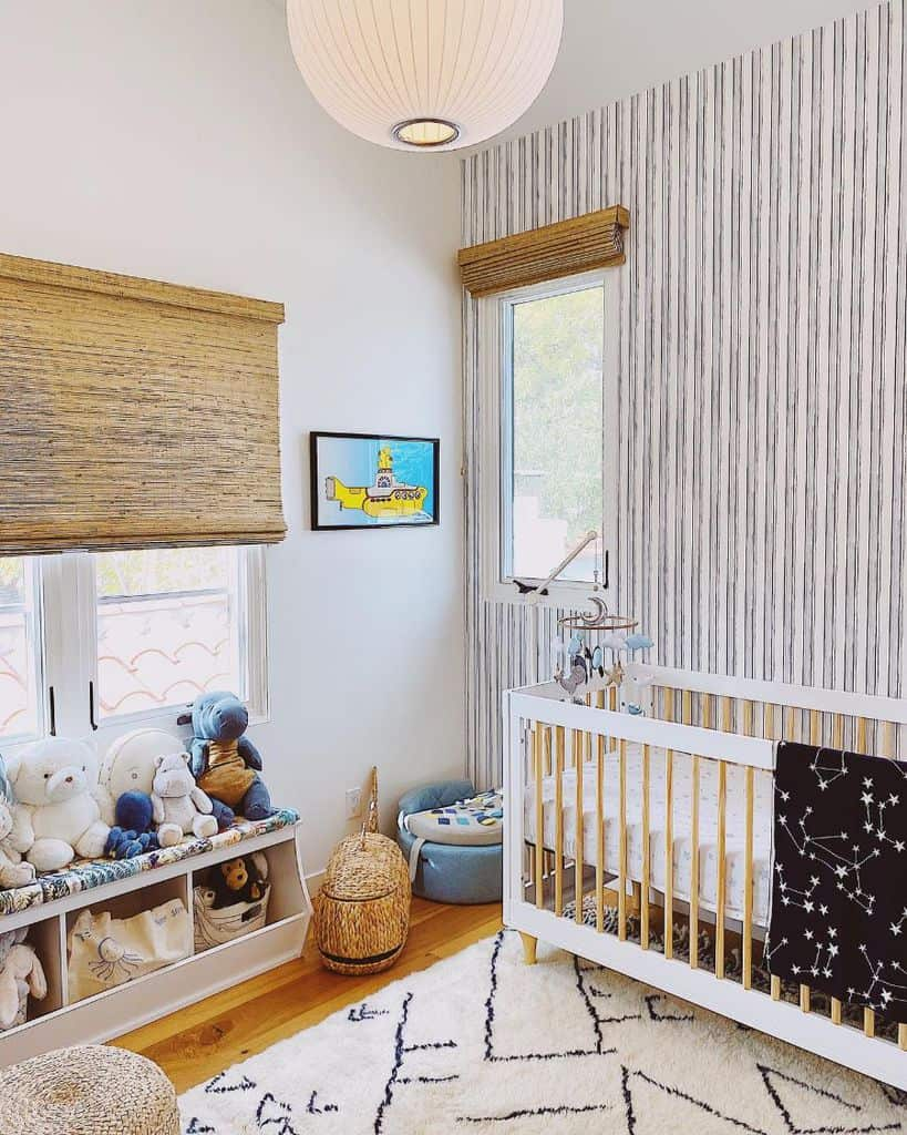 Statement Wall Baby Room Ideas Casitacamotion