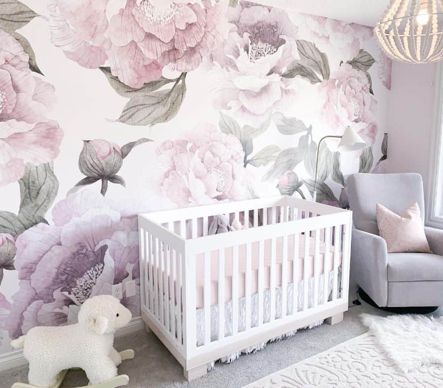 Statement Wall Baby Room Ideas Hudson Thegolden
