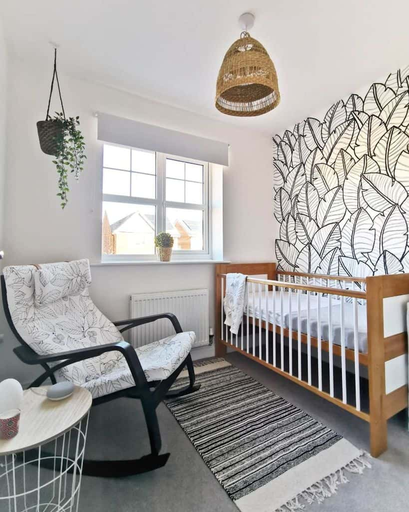Statement Wall Baby Room Ideas Life At No27