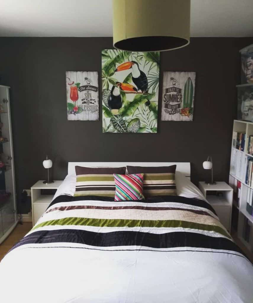 Statement Wall Guest Bedroom Ideas Our Audley House