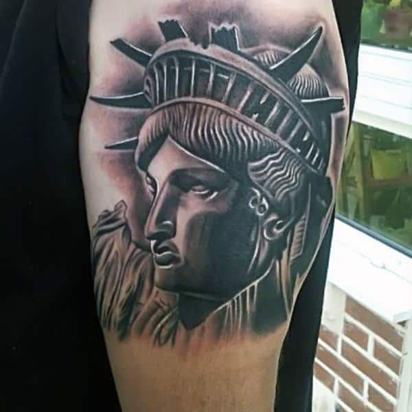 Statue Of Liberty Tattoo Ideas For Men