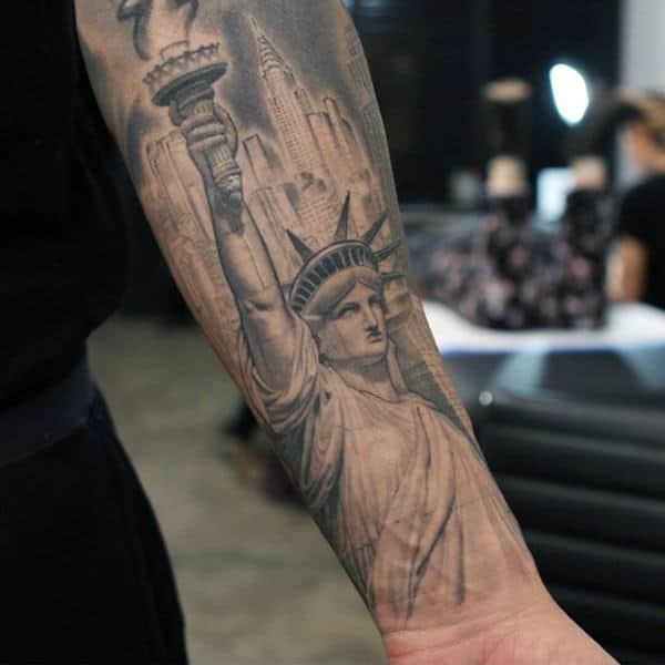 75 Inner Forearm Tattoos For Men - Masculine Design Ideas
