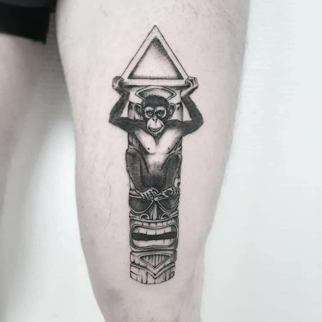 Statues Tiki Tattoo Inkceptionart
