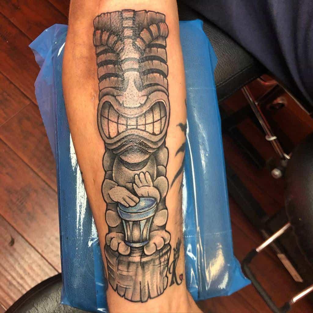 Statues Tiki Tattoo Instabullshit
