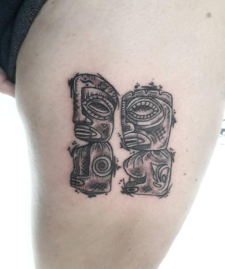 Statues Tiki Tattoo Tiaani.riches Tattoos