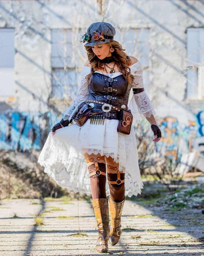 Steam Punk Victorian Style Dress