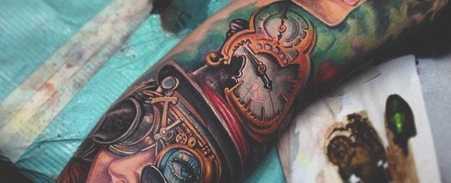 Steampunk Tattoo Designs For Men