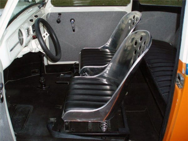 Steel And Black Leather Seats Rat Rod Interiors