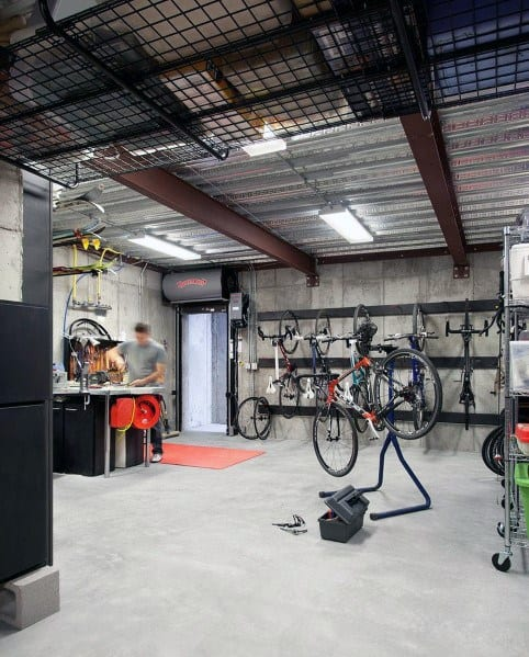 Top 40 Best Garage Ceiling Ideas