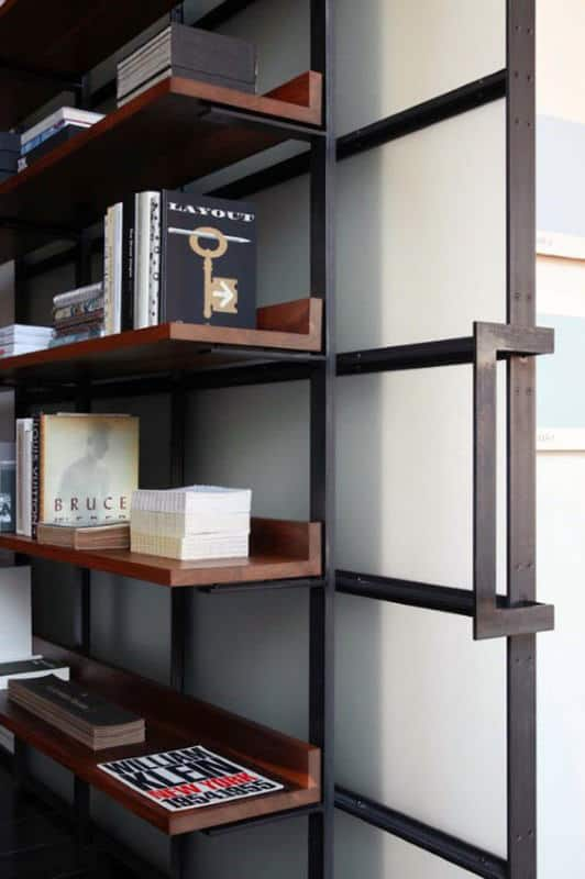 Steel Bookcases Man Cave Decor Inspiration