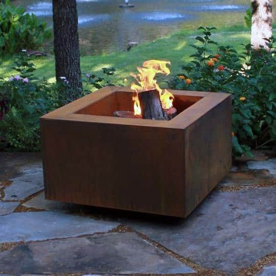 Steel Fire Pit Ideas Inspiration