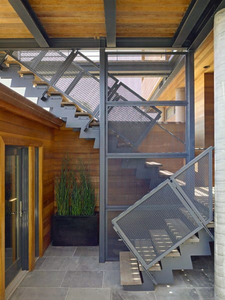 Steel Industrial Staircase Ideas