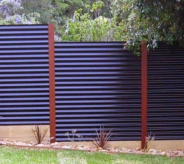 Steel Modern Dog Fence Exterior Design