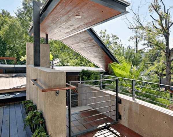 Steel Modern Ideas For Deck Gate Backyard