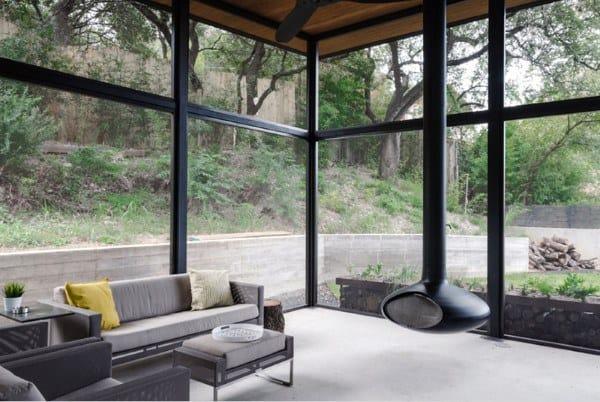 Steel Modern Windows Sunroom Ideas