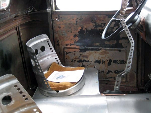 Steel Seats And Shifter Rat Rod Interiors