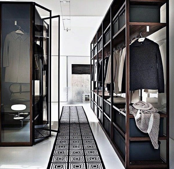 Steel Shelf Mens Closet Inspiration