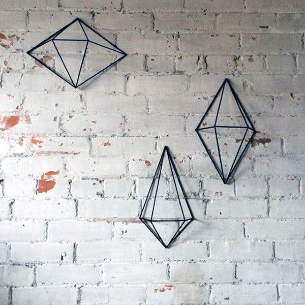Steel Wire Wall Accents Man Cave Decor