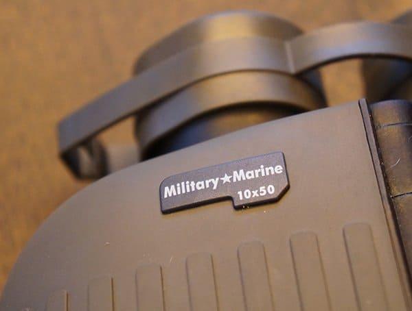 Steiner Military Marine 10x 50 Binoculars Detail Front