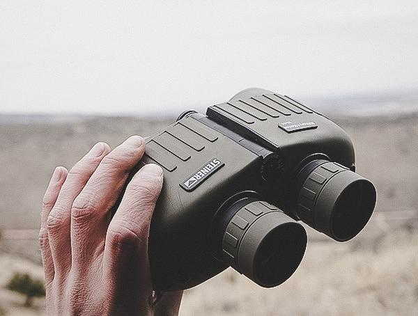 Steiner Military Marine 10x 50 Binoculars In Hand Review