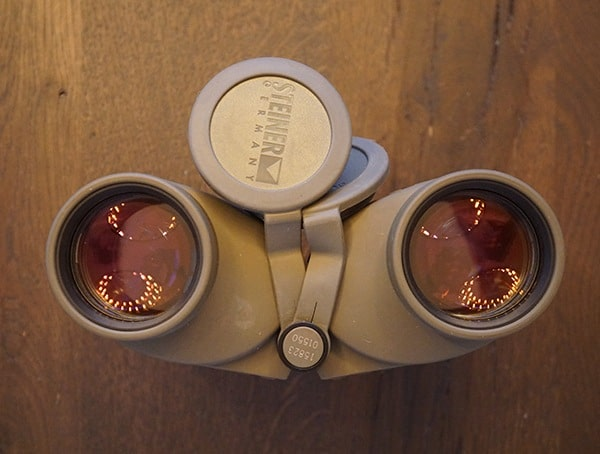 Steiner Military Marine 10x 50 Binoculars With Lens Covers Removed