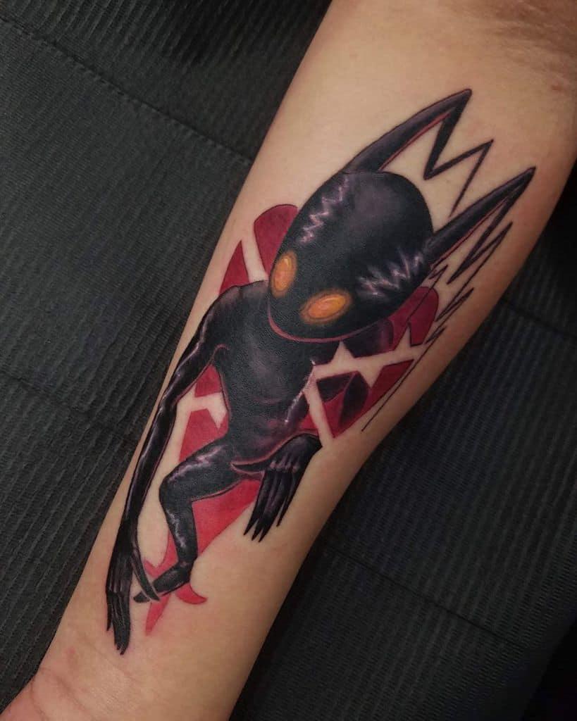 Stencil Kingdom Heart Tattoo