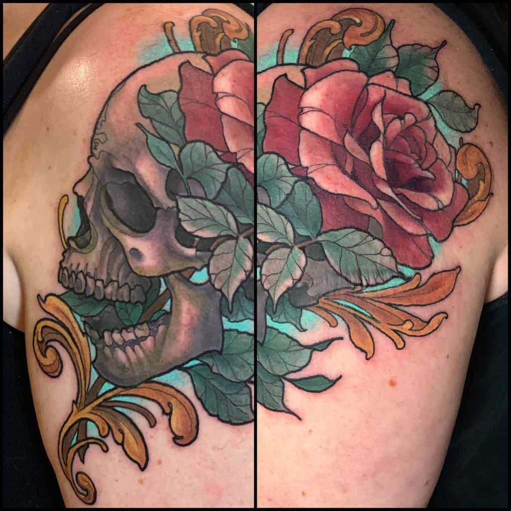 stencil-stuff-skull-and-rose-tattoo-katecrane