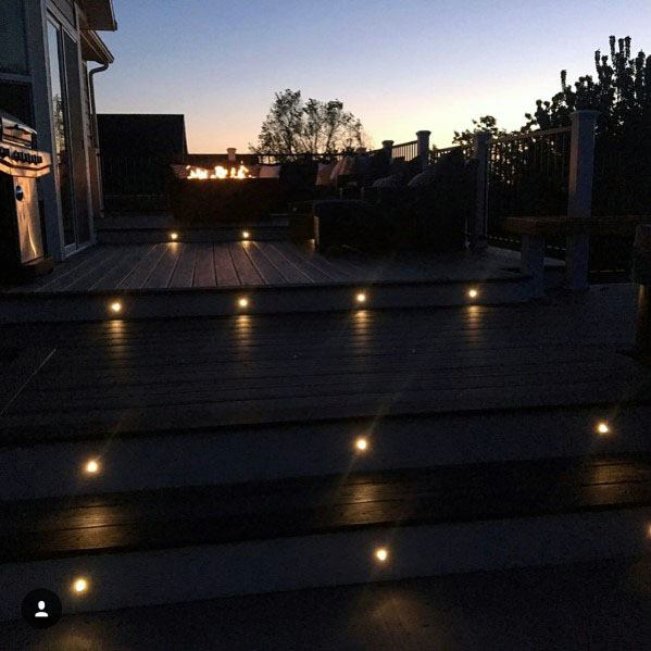 Step Deck Lighting Ideas
