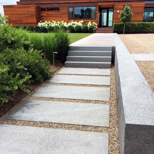 Stepping Stone Home Design Ideas Gravel Landscaping