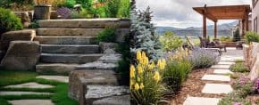 Top 70 Best Stepping Stone Ideas – Hardscape Pathway Designs