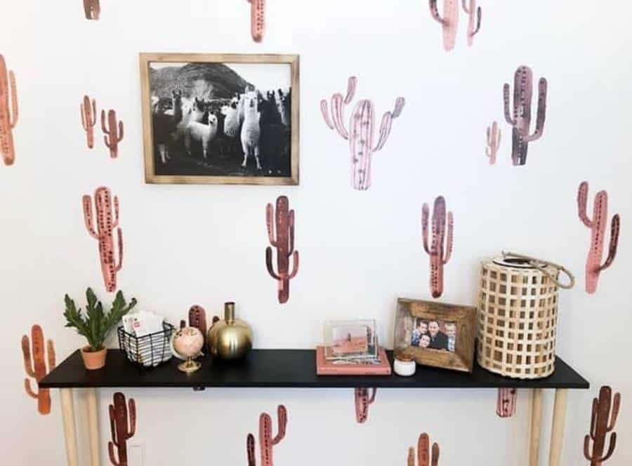 Sticker Or Decal Accent Wall Ideas