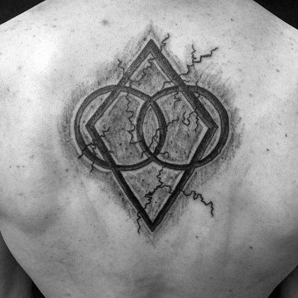 Stone 3d Upper Back Symbol Skyrim Guys Tattoos