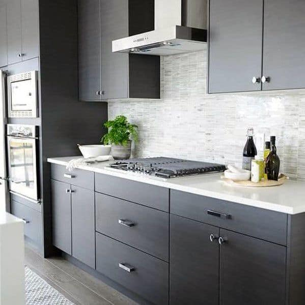 Stone Backsplash Cool Kitchen Ideas