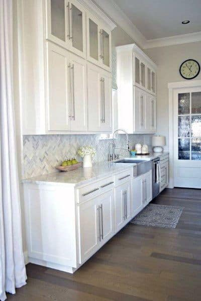 Stone Backsplash Home Ideas
