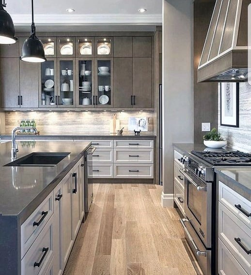 50 Best Kitchen Backsplash Ideas For 2017: Top 60 Best Kitchen Stone Backsplash Ideas
