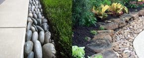 Top 40 Best Stone Edging Ideas – Exterior Landscaping Designs
