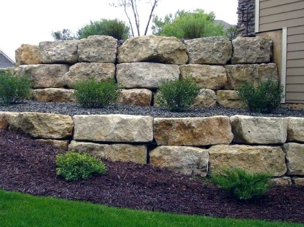 Stone Edging Ideas Inspiration Large Boulder Landscaping