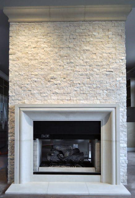 Ideas For A Stone Fireplace Low Budget Interior Design