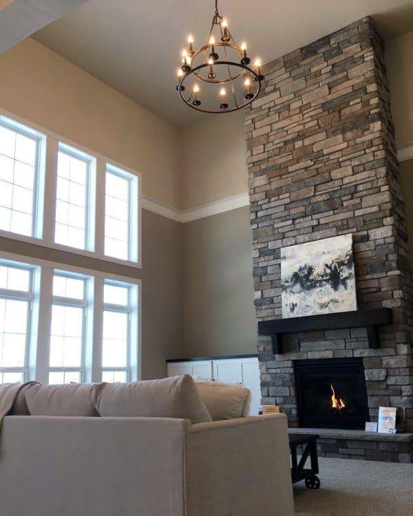 Stone Fireplace Inspiration Designs
