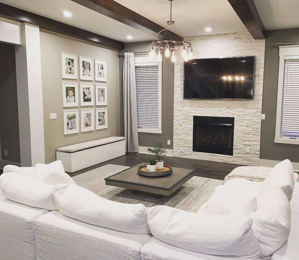 stone fireplace wall ideas homewithsasa