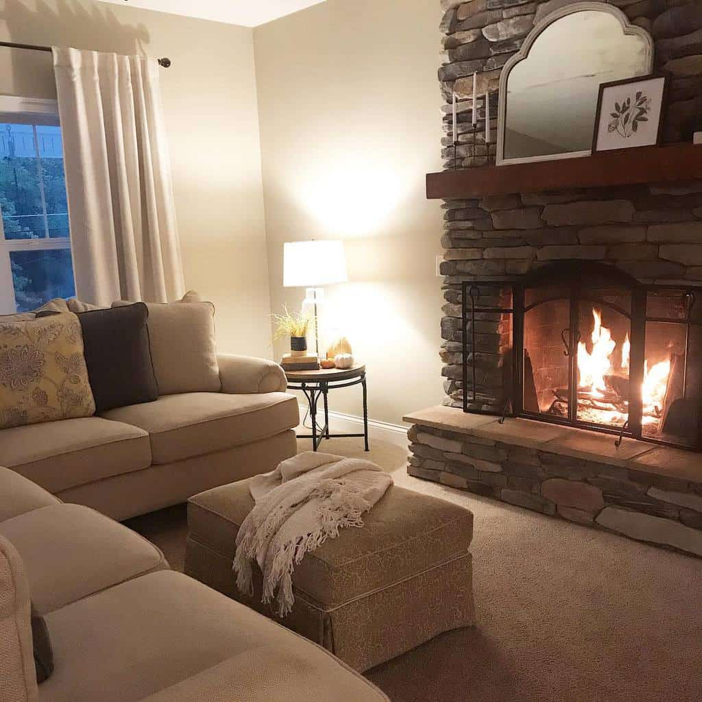 stone fireplace wall ideas ohiohillside
