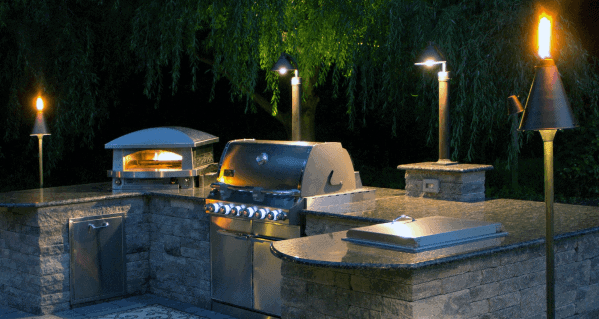 Stone Ideas For Built In Grill