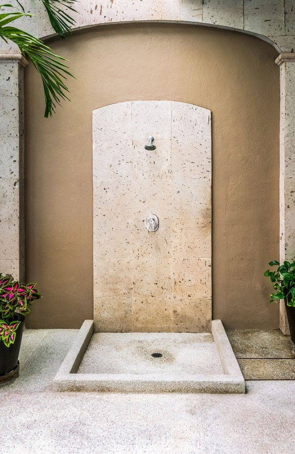 Top 60 Best Outdoor Shower Ideas Enclosure Designs
